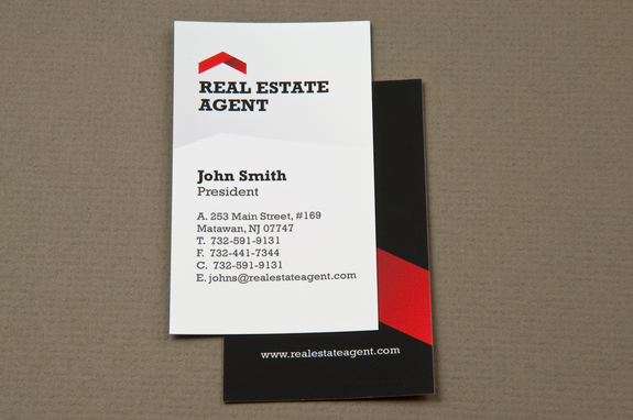 Corporate real estate business card template inkd corporate real estate business card template reheart Choice Image