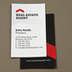 Corporate Real Estate Business Card Template