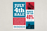 Independence Day Sale Flyer Template