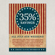 Vintage Independence Day Flyer Template