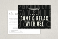 Dynamic Hotel Postcard Template