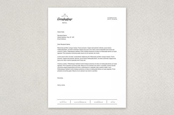 white house letterhead template thevillas co