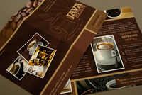 Cozy Coffee Shop Brochure Template