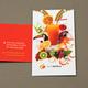 Juice Bar Business Card Template