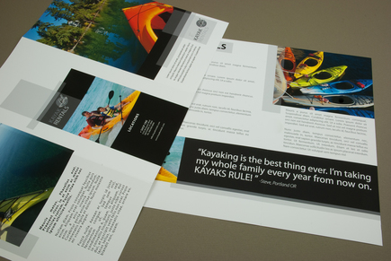 kayak rental brochure template inkd. Black Bedroom Furniture Sets. Home Design Ideas
