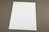 Juice Bar Letterhead Template