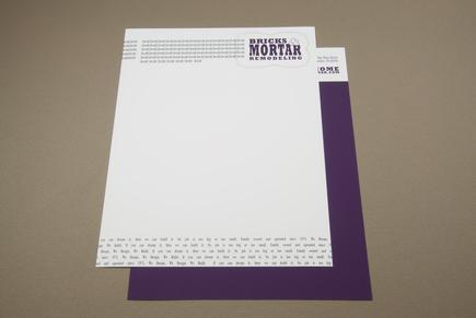 Home Remodeling Letterhead Template   Inkd
