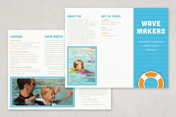 Brochure Templates and Brochure Sample Designs for Business – Sample Business Brochure