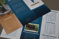 Custom Landscaping Brochure Template