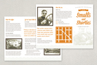 Vintage Repair Shop Brochure Template