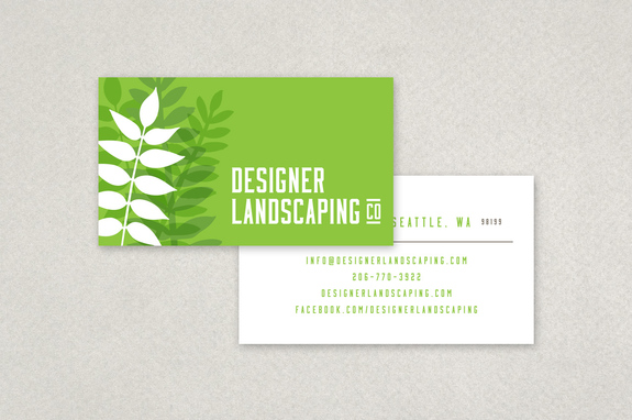 Designer Landscaping Business Card Template Inkd