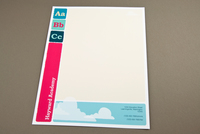 Modern Education Letterhead Template