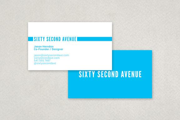 Flat design business card template inkd flat design business card template colourmoves
