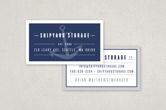 Self storage business card template inkd self storage business card template colourmoves