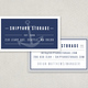 Self Storage Business Card Template