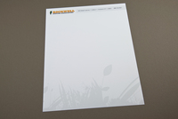 Custom Landscaping Letterhead Template
