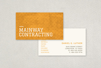 General Contractor Business Card Template