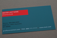 Learning Center Business Card Template