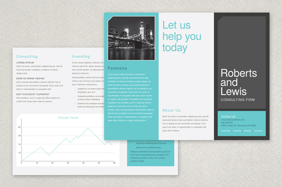 Free Brochure Template Free Brochure Templates Design Sample Inkd - Design brochure templates