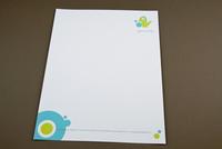 Children's Daycare Letterhead Template