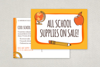Fun Back to School Postcard Template