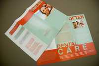 Family Dentistry Brochure Template