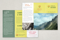 Sports & Outdoor Store Brochure Template