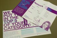 Marketing Firm Brochure  Template