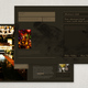 Upscale Restaurant and Bar Brochure  Template