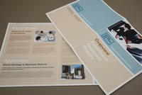 Investment Firm Brochure Template