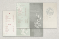 Silken Chinese Restaurant Menu Template