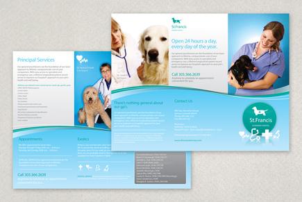 veterinary brochure template inkd. Black Bedroom Furniture Sets. Home Design Ideas