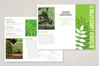 Designer Landscaping Brochure Template