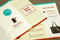 Fabric Shop Brochure Template