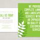 Designer Landscaping Postcard Template