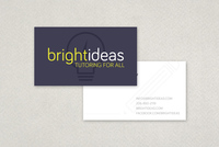Modern Tutor Business Card Template