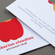 Graphic Personal Chef Business Card Template