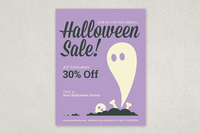 Fun Halloween Sale Flyer Template