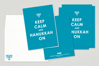 Keep Calm Hanukkah Card Template