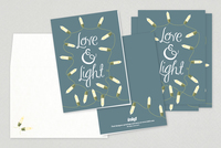 Love Holiday Greeting Card Template