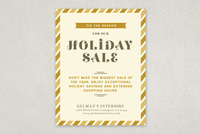 Upscale Holiday Sale Flyer Template