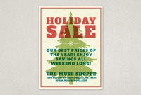 Bold Holiday Sale Flyer Template