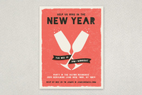 Edgy New Year's Flyer Template