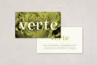 Sophisticated Minimal Business Card Template