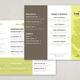 Modern Restaurant Brochure Template