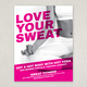 Hot Yoga Flyer Template