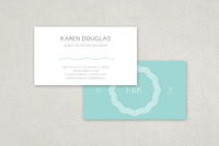 Minimal Modern Business Card Template