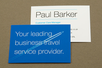 Upscale Business Travel Business Card Template