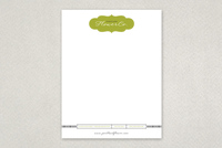 Trendy Flower Shop Letterhead Template