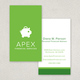 Financial Planning Services Business Card Template